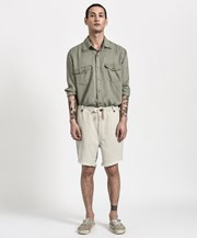 One Teaspoon SAFARI LINEN RELAXED CHINO SHORT 21869