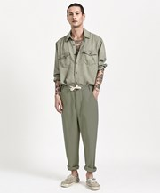 One Teaspoon SAFARI RELAXED LINEN RELAXED CHINO PANT 22553A