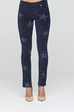 New London Starston Velvet Jean - Ink