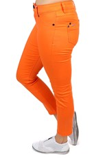 New London Thames Taper Crop Jeans - Orange