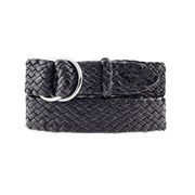 Badgery Queenslander - Plaited Kangaroo Leather Belt