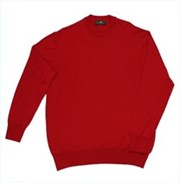 Merino Gold Fine Gauge Crew Neck Jumper