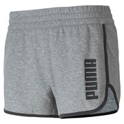 Puma Favourite Fleece Women's Training Shorts Medium Gray Heather