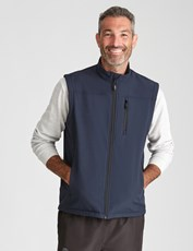 Rivers-Tex Soft Shell Vest Navy