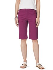 Rockmans Slant Pocket Colour Short mauve