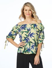 Table Eight Sandy Print Top multi