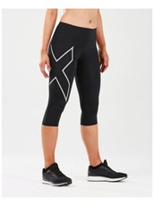 2XU Women's Mid-Rise Compression 3/4 Tight W/Bk Storage