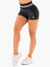 Ryderwear Freestyle Seamless High Waisted Shorts Black