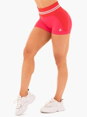 Ryderwear Freestyle Seamless High Waisted Shorts Red