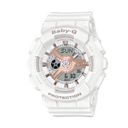 Baby G Baby-G BA11ORG-7A White Resin Womens Watch