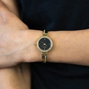 Ellis & Co ' Erika' Gold Plated Women's Watch