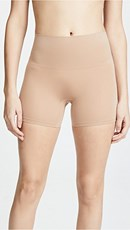 Yummie Seamlessly Shaped Ultralight Nylon Shorts Almond