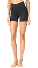 Yummie Seamlessly Shaped Ultralight Nylon Shorts Black