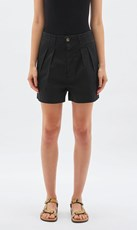 Bassike | Workwear Mini Short - Black