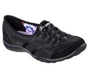 Skechers Womens Relaxed Fit: Breathe Easy - Faithful Black