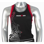 Ironman Activewear Ironman Womens Tri Top - Black/Red