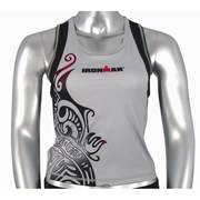 Ironman Activewear Ironman Womens Tri Top - Silver/Black