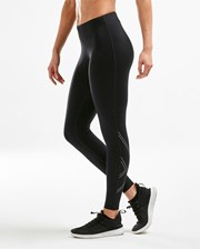2XU Womens Aspire Comp Tight - Black/Silver