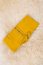 Stelly Roped In Belt - Mustard-SALE