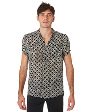 Rollas Beach Boy Mens Ss Shirt Bone