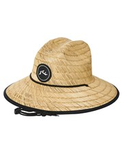 Rusty Boony Straw Hat Natural Four Natural Four