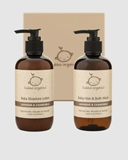 Bubba Organics Lavender and Chamomile Baby Bath and Body Gift Box Lavender & Chamomile
