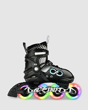 Crazy Skates infinity Alpha Adjustable Inline Black