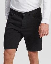 Dr Denim Bay Shorts Black