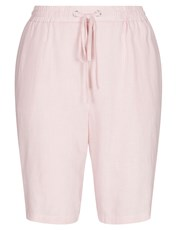 W.Lane Linen Short PINK STRIPE