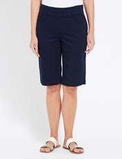 W.Lane Relaxed Short FRENCH NAVY