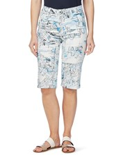 W.Lane Scenic Print Short MULTI