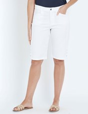 W.Lane Side Button Short white
