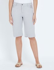 W.Lane Stitch Detail Short silver