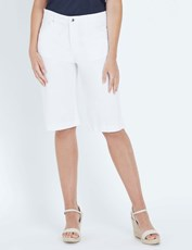 W.Lane Stitch Detail Short white