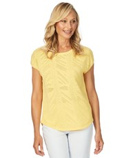 W.Lane Textured Knit YELLOW