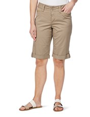W.Lane Trim Detail Short TAUPE