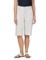 W.lane Micro Stripe Short BISCUIT/WHITE