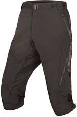 Endura Hummvee II 3/4 Length Baggy Shorts Black