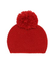 Bonpoint Wool and alpaca-blend beanie red P00412516